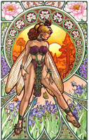 Dawn (Mucha) by Snigom