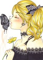 Butterfly Kiss by candee4meeha