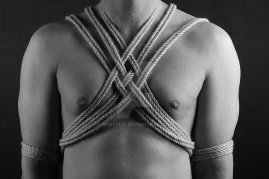 Simple Chest Harness by Ange1ica