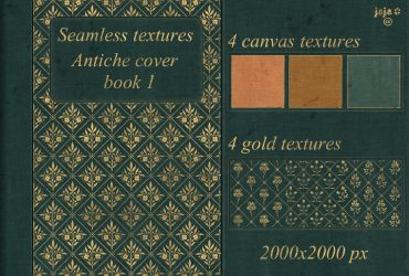 Antiche cover book Seamless textures 1 by jojo-ojoj
