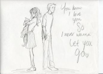 Never let you go by burdge