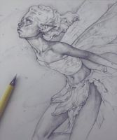 Vonn Sketch 4.25.18 - Garden Fairy by Tvonn9