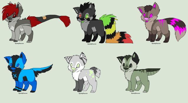 Canine Adopts (OPEN) by CinderTheHesky