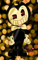 Bendy The Demon by BeansTheCat