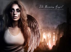 The Burning Angel by NatsPearlCreation
