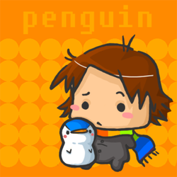 png: penguins slouch by penguiinn