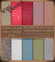 Stained-glass window Patterns by elixa-geg
