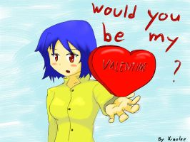 Would you be my Valentine? by xiaolee92