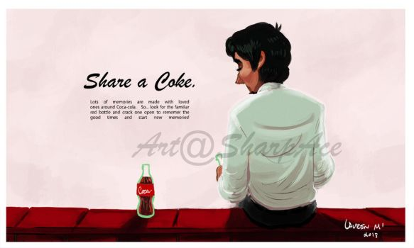 Two Cokes by SharpAce