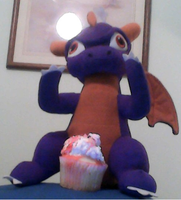 Spyro Love Cupcake Too by BluethornWolf