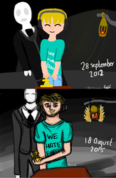 Improvement Meme 2012 - 2015 by Kittygoesrawrrr