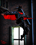 Batman Beyond by tkdrobert