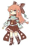 Pixel Comm: Mikashi by pengucola