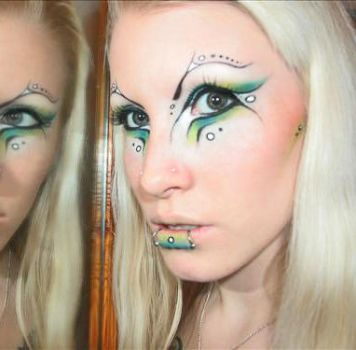 - Mermaid Makeup - by Ryo-Says-Meow