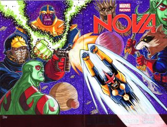 Nova Sketch cover by dadicus