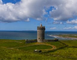 Doonagore Castle - Doolin Co. Clare by anseo1985