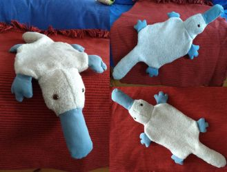 Platypus hot bottle suit by Philomartina