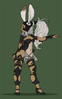 Fran ff12 flatcolor by Piasdatter