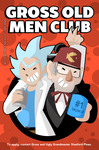 Gross old men club by SelanPike