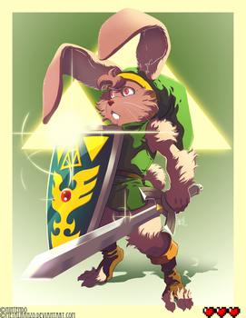 Bunny Link by HeavyMetalHanzo