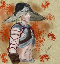 Andraste's Flaming Abs Cole by Taina-dOS