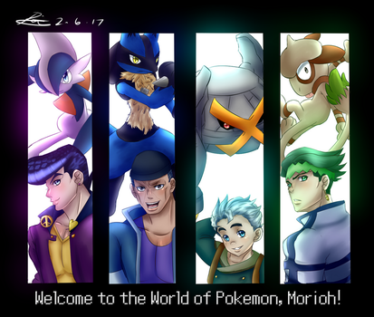 ..:: Welcome to the World of Pokemon, Morioh! ::.. by Hebigami-Okami-77