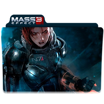 Mass Effect 3 Folder/Icon 2 by Lezya