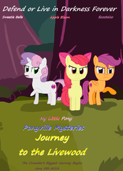 Ponyville Mysteries Journey to the Livewood Promo  by ThomasZoey3000
