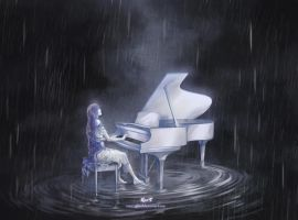 Melody in the Rain by silviacaballero