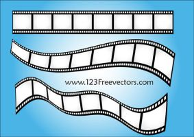 Vector Film Strip-2 by 123freevectors