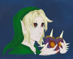 Beyond the mask : Ben drowned by UmbrielUtopia