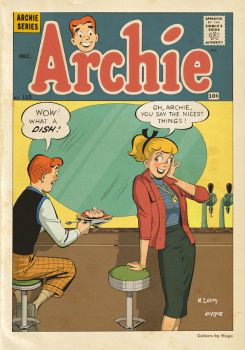Archie #115 Cover by serpenttina