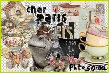 Cher Paris PNGs by photosoma