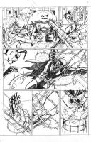 Batman Crucifixion pg 4. by JoeRuff