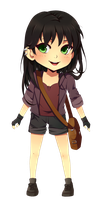 Chibi Adelaide by MzzAzn