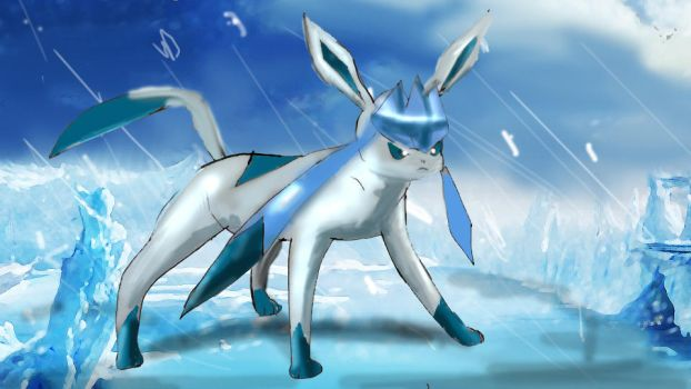 Glaceon by godson10