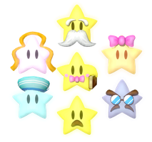 Star Spirits (Mario Party 5) by Banjo2015