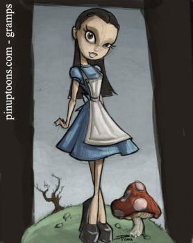 Rion Vernons Alice by grampsart