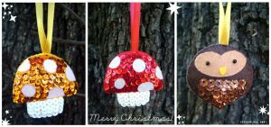 Christmas Ornaments by designslave