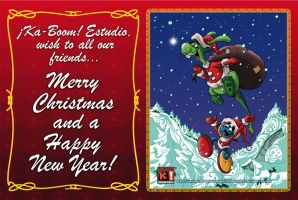 Merry Christmas 2013 and Happy New Year 2014 by Saskunah