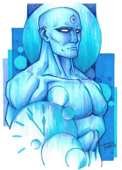 marker: Dr.Manhattan by KidNotorious