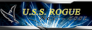 USS Rogue Banner by ChevronTango