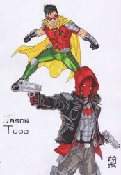 ROBINSDESIGN2 Jason Todd Robin-Red Hood my redesig by GabRed-Hat