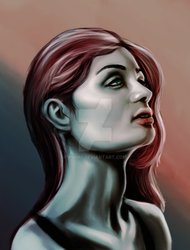 Redhaired Lady by kuimy