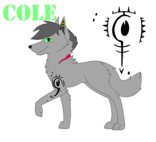 Cole ref (feral form) by StellarEclipse1000