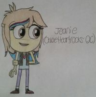 Jeanie in My Style (Req. for ChloeHeartrocks) by Daisies-Sunshine