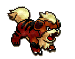 #058 - Growlithe by Aenea-Jones