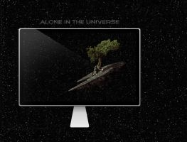 Alone in the Universe by abdelrahman