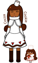 Cocoa Cookie by AlyssaWalfas40