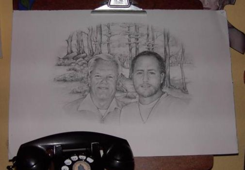 Dad and I by Cutshaw1